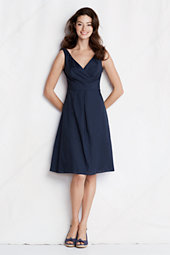 Women's Cotton Lawn Empire Waist Dress