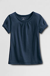 Girls' Short Sleeve Tissue T-shirt