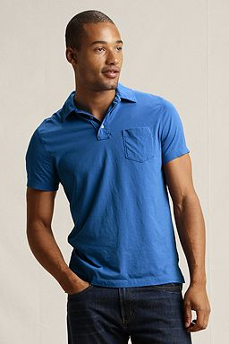 Jersey Polo: Vista Blue