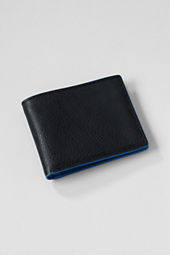 Casual Textured Bi-fold Wallet