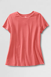 Women's Maternity Interlock Scoopneck Tee