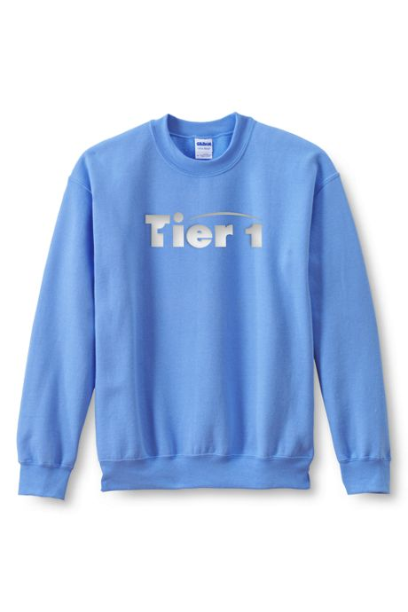 Men's Regular Gildan Screen Print Crew Sweatshirt