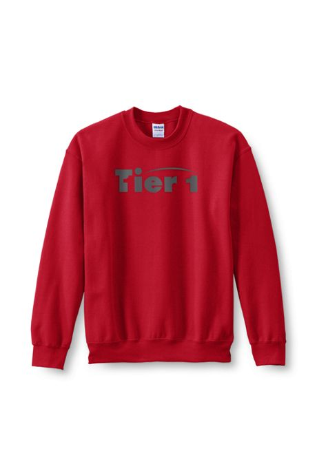 Men's Big Gildan Screen Print Crew Sweatshirt