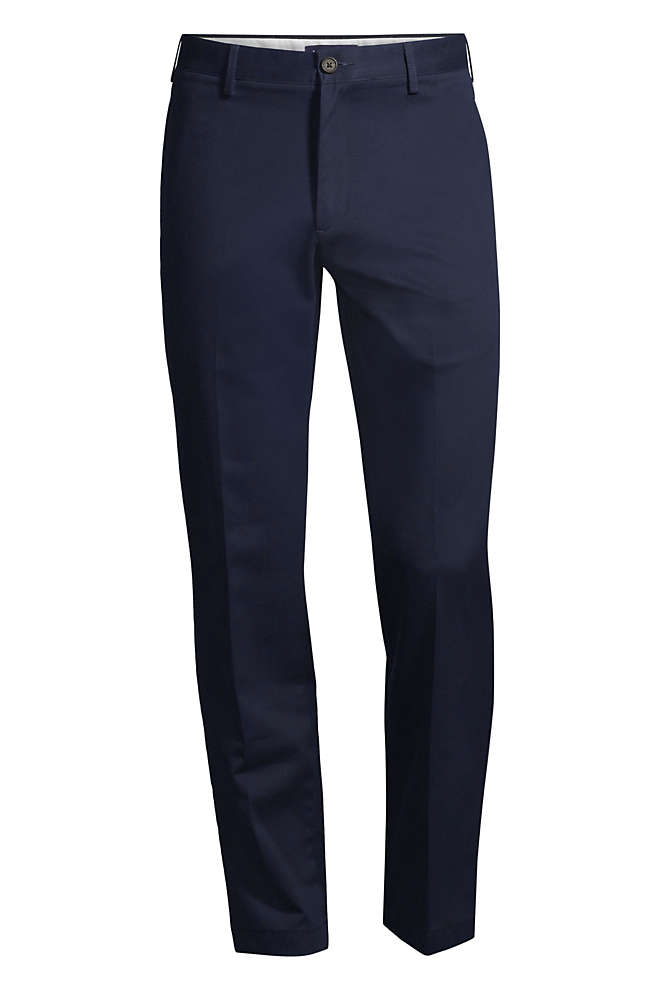 Men's Tailored Fit No Iron Chino Pants, Front