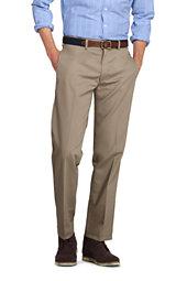 Lands' End Men's Plain Front Tailored Fit No Iron Chino Pants