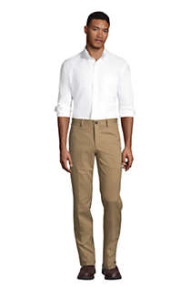Men's Tailored Fit No Iron Chino Pants, alternative image