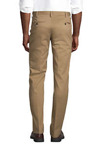 Men's Tailored Fit No Iron Chino Pants, Back