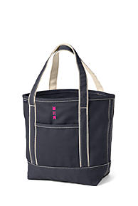 b49d6bfdd7f5 Open or Zip Top Color Canvas Tote Bag