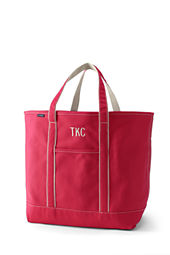 Extra Large Colored Open Top Tote Bag