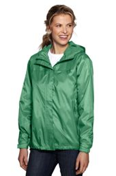 Women's Fleece-lined Packable Rain Jacket