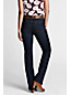 Women's Petite Bootcut Stretch Jeans with Grown-on Waist