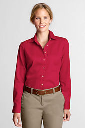 Women's Long Sleeve Performance Twill Shirt