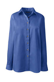 Women's Plus Size Long Sleeve Performance Twill Shirt