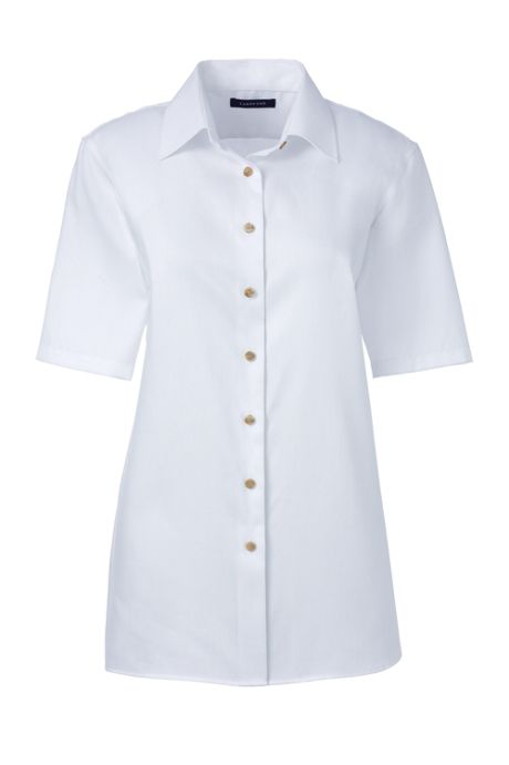 Women's Short Sleeve Performance Twill Shirt