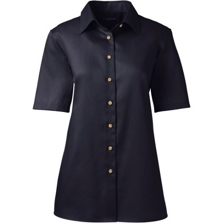 Women's Short Sleeve Performance Twill Shirt