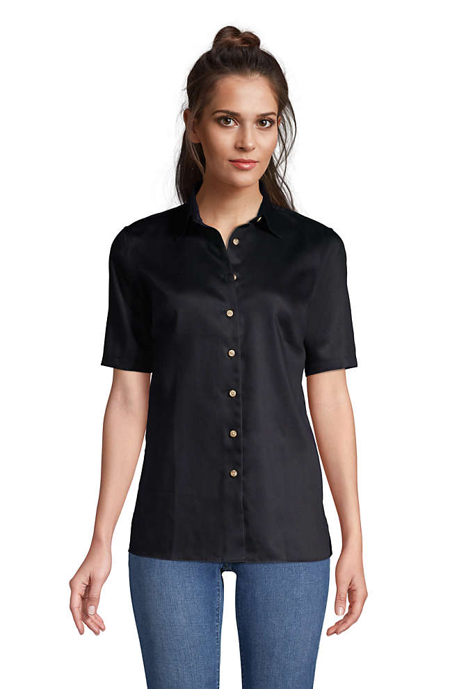 Women's Performance Twill Shirt, Front