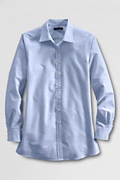 Women's Maternity Straight Collar Oxford Shirt