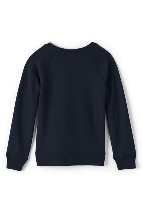 School Uniform Girls Crew Sweatshirt