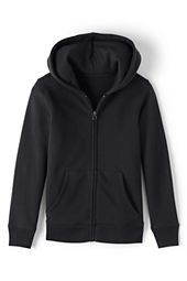 Girls' Hooded Zip-front Sweatshirt