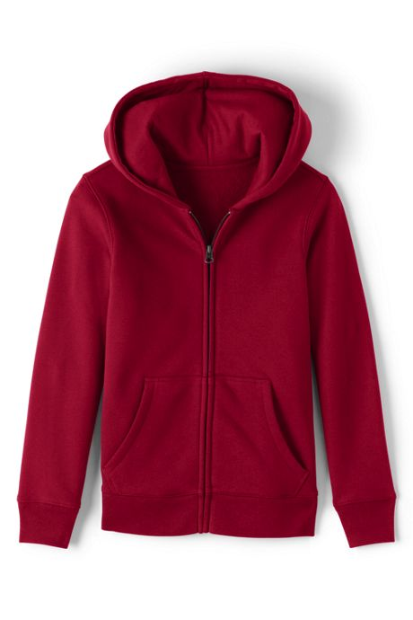 Girls Zip-front Sweatshirt
