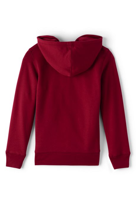 School Uniform Girls Zip-front Sweatshirt