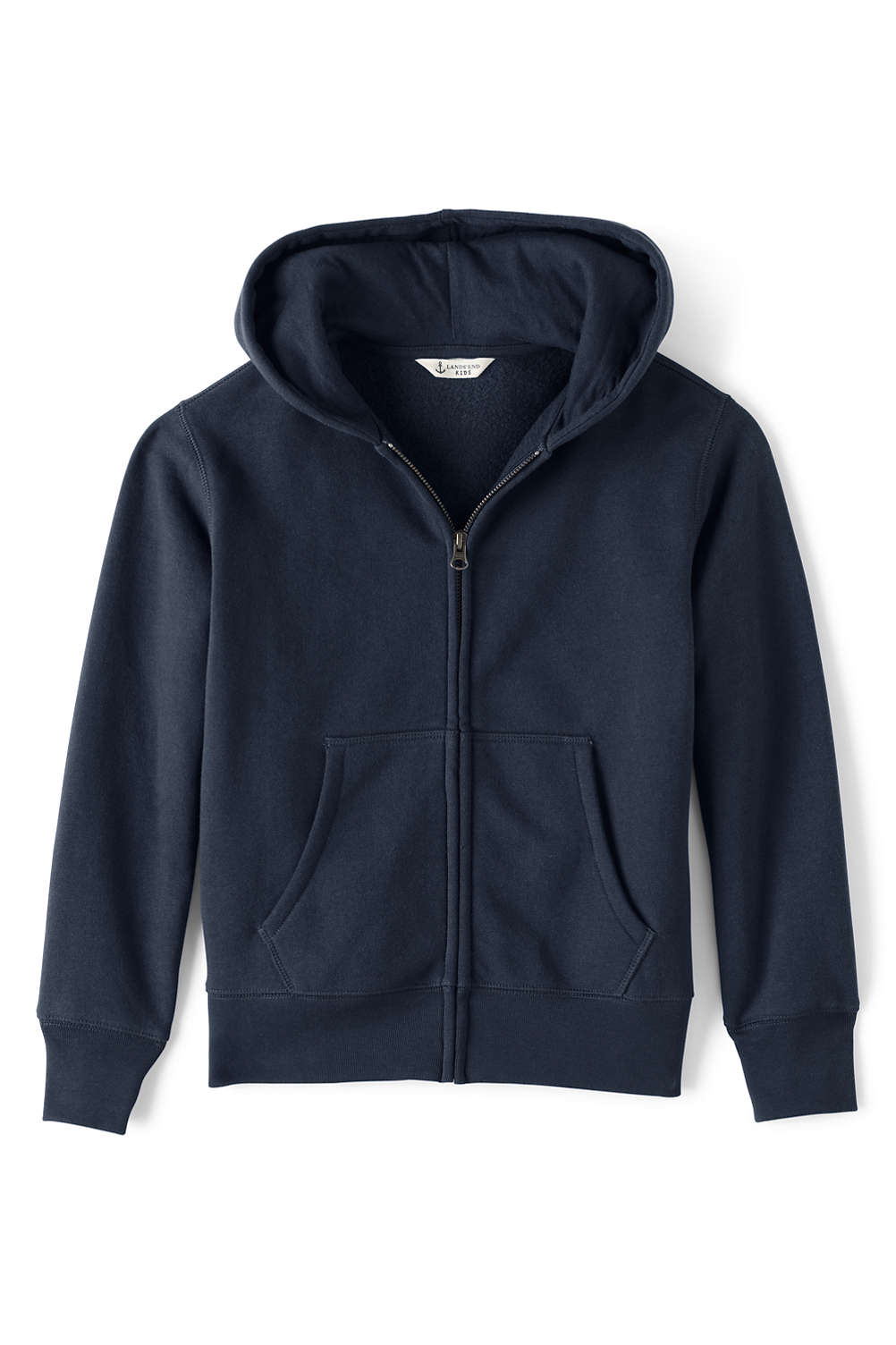 1ad63b94f Boys Zip-front Sweatshirt from Lands' End