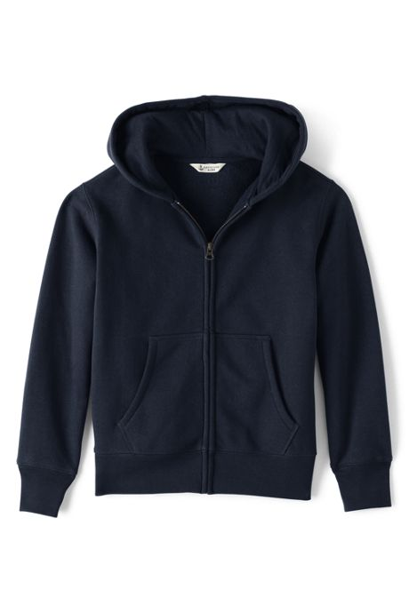 Boys Zip-front Sweatshirt