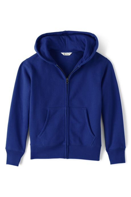 School Uniform Boys Zip-front Sweatshirt