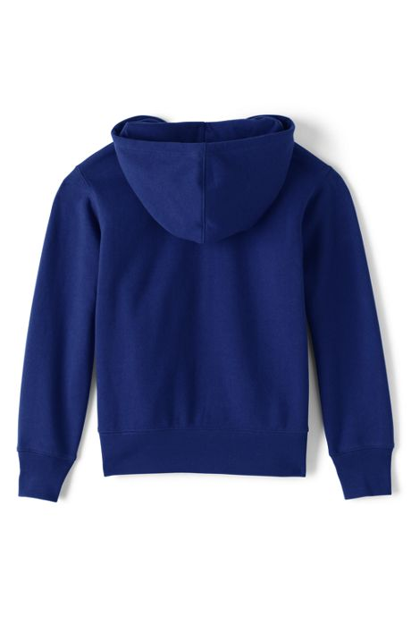 School Uniform Little Boys Zip-front Sweatshirt