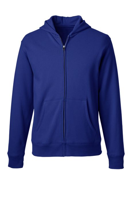 School Uniform Men's Zip-front Sweatshirt