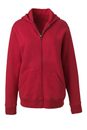 Women's Hooded Zip-front Sweatshirt