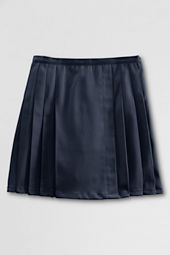Girls' Pleated Twill Skort