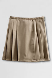 School Uniform Pleated Twill Skort