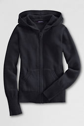Girls' Zip-front Cardigan