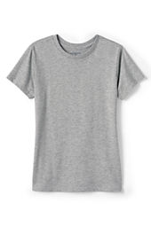 Girls' Short Sleeve Feminine Fit Basic T-shirt
