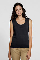 Women's Soft Rayon Blend Sleeveless Shell
