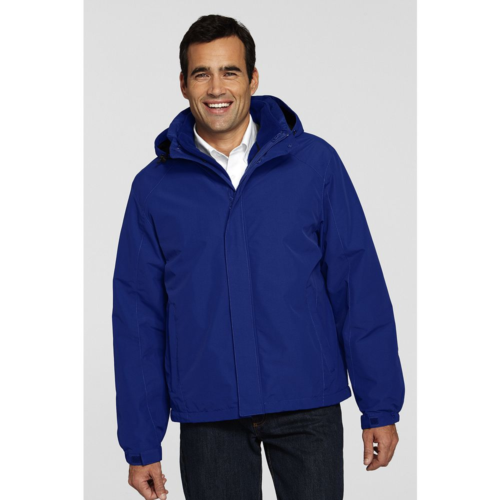 Lands' End Men's Big & Tall Colorblock 3-in-1 Squall Jacket at Sears.com