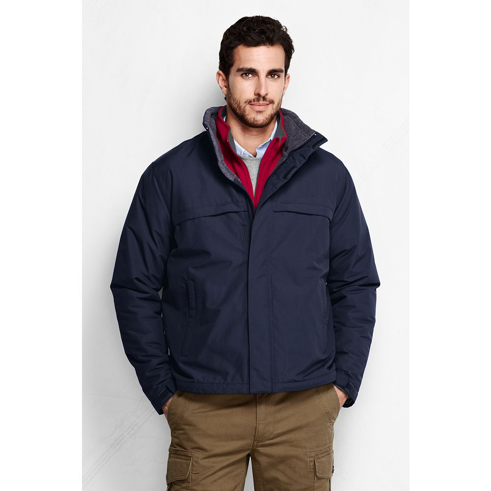 Lands' End Men's Big & Tall Sport Squall Jacket at Sears.com