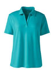 Women's Short Sleeve Johnny Collar