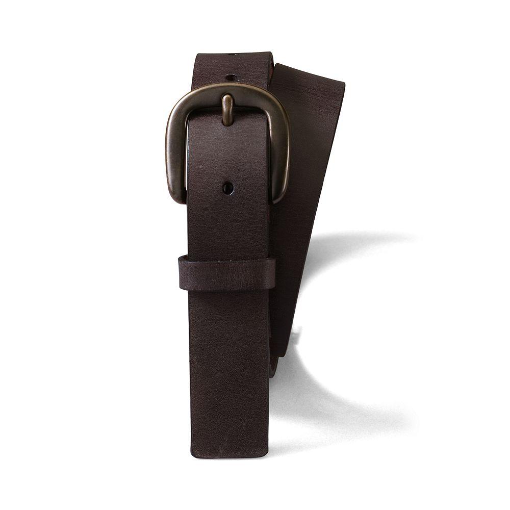 Lands' End School Uniform Boys' Leather Belt at Sears.com