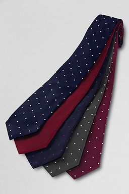 Textured Dot Necktie