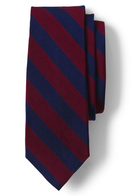 Men's Long Wide Stripe Tie