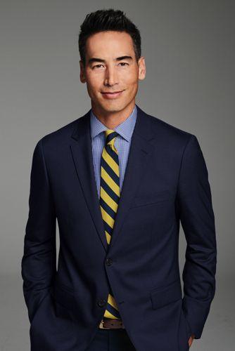 Men's Wide Stripe Tie