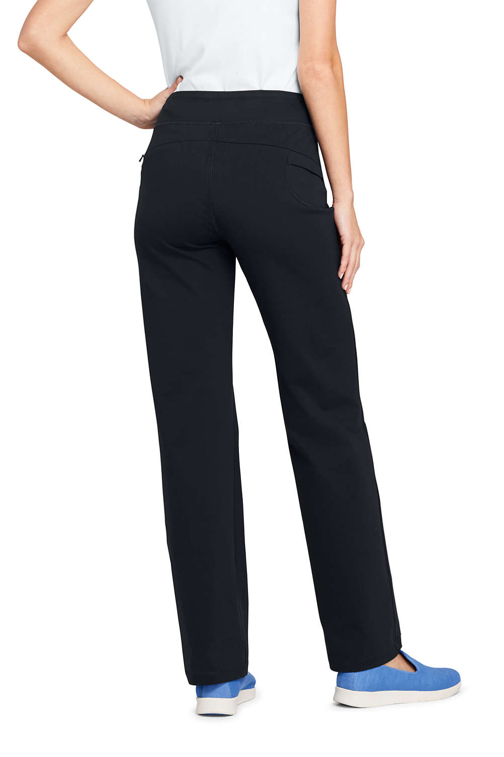 c0cd08541bc Women s Active Yoga Pants from Lands  End
