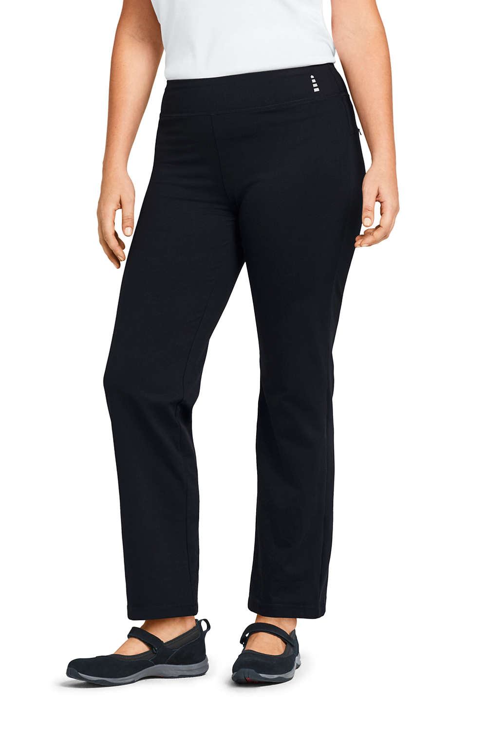 d696f4ebf2654 Women's Plus Size Active Yoga Pants from Lands' End