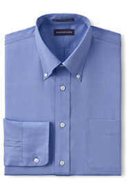 Men's Tailored Long Sleeve No Iron Buttondown Pinpoint Shirt