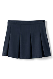 Girls' Box Pleat Skirt (Above The Knee)
