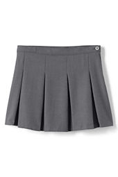 School Uniform Box Pleat Skirt (Above The Knee)