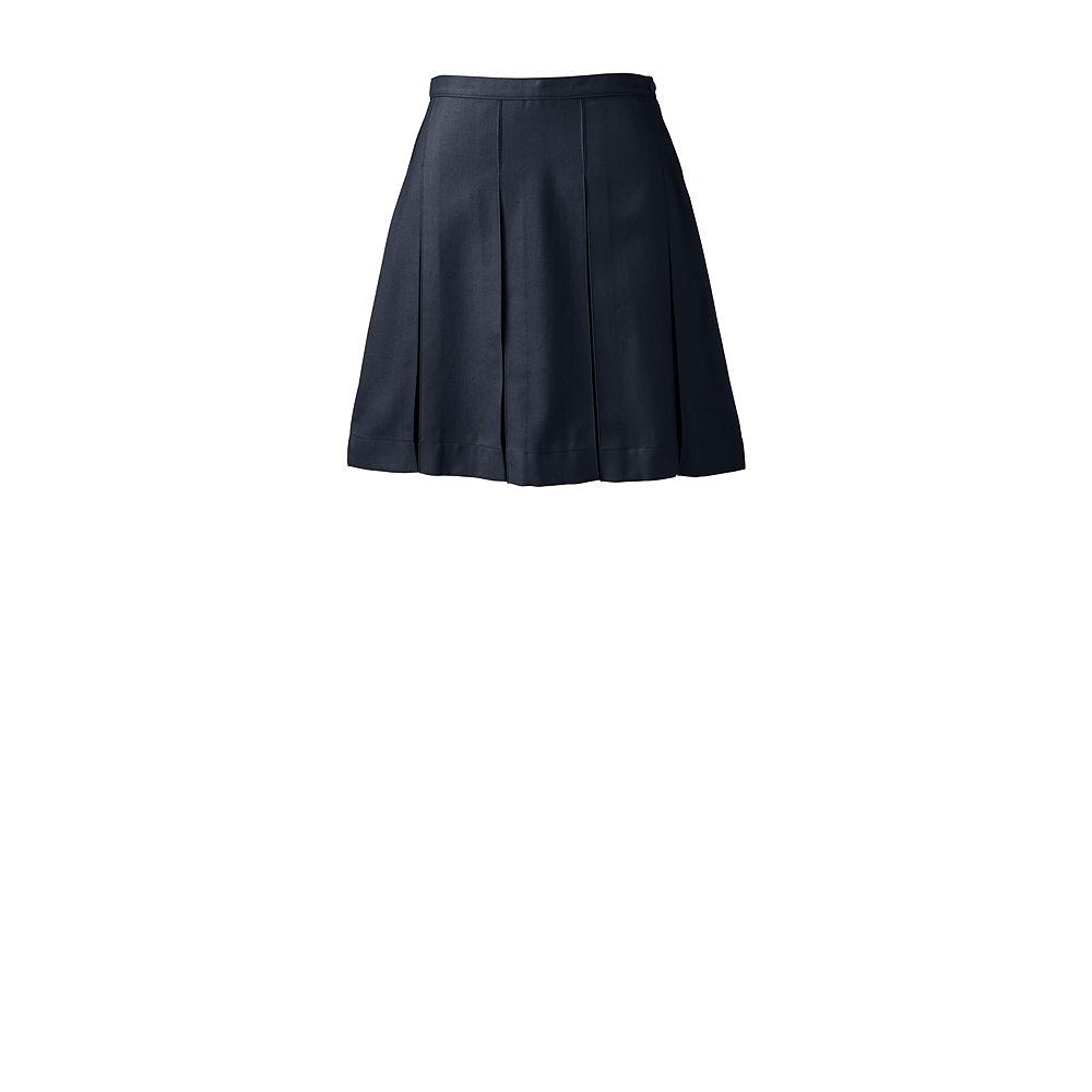 Lands' End School Uniform Women's Box Pleat Skirt (Above The Knee) at Sears.com