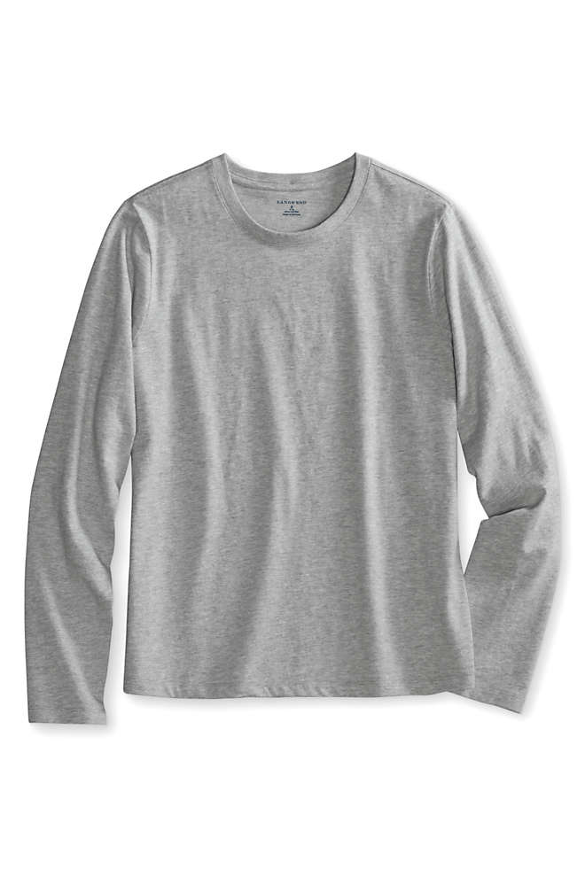 Little Girls Long Sleeve Essential T-shirt, Front